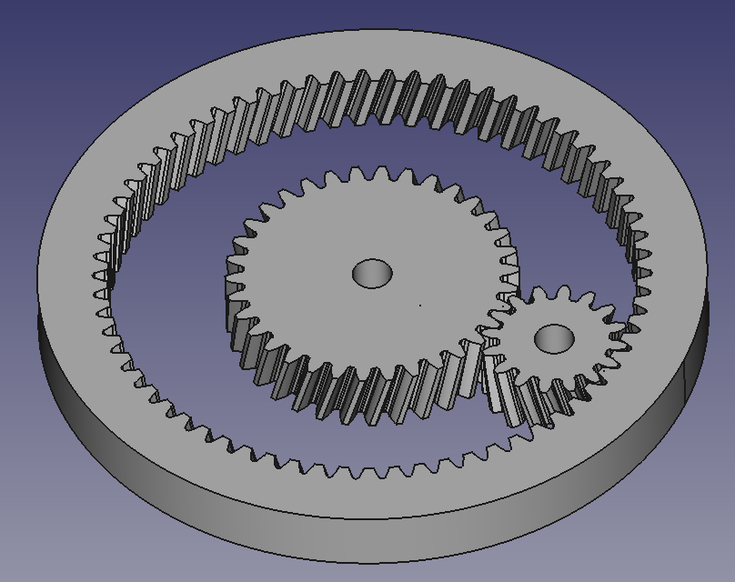 Planetary gears in FreeCAD (Pt 1) – Code Make Share